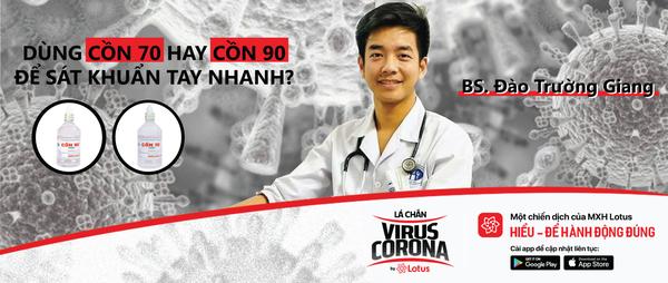 CÓ THỂ DÙNG CỒN 70 HAY CỒN 90 ĐỂ SÁT KHUẨN TAY NHANH? - Lá chắn virus Corona - Blog