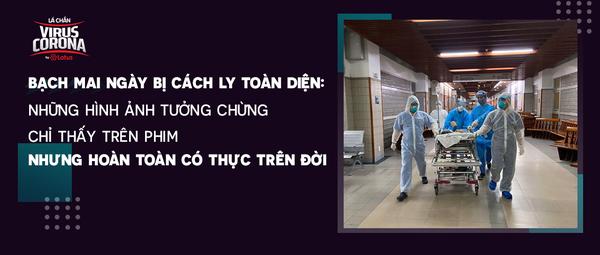 Điều kì diệu tại Bệnh viện Bạch Mai những ngày bị cách ly toàn diện: Những hình ảnh tưởng chừng chỉ thấy trên phim nhưng hoàn toàn có thực trên đời - Lá chắn virus Corona - Blog